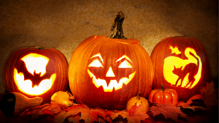 Carved pumpkin designs for pumpkin carving competition