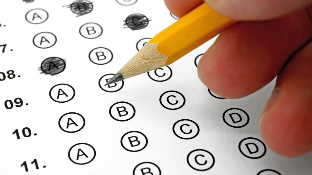 A score card signifying a child empathy test